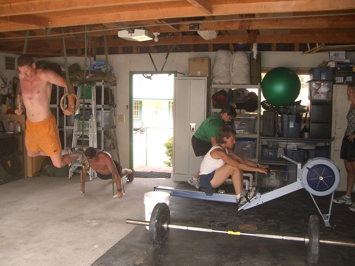 Garage gym workouts eoua