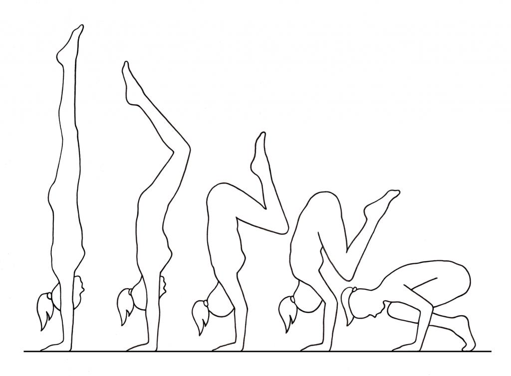 Handstand descent