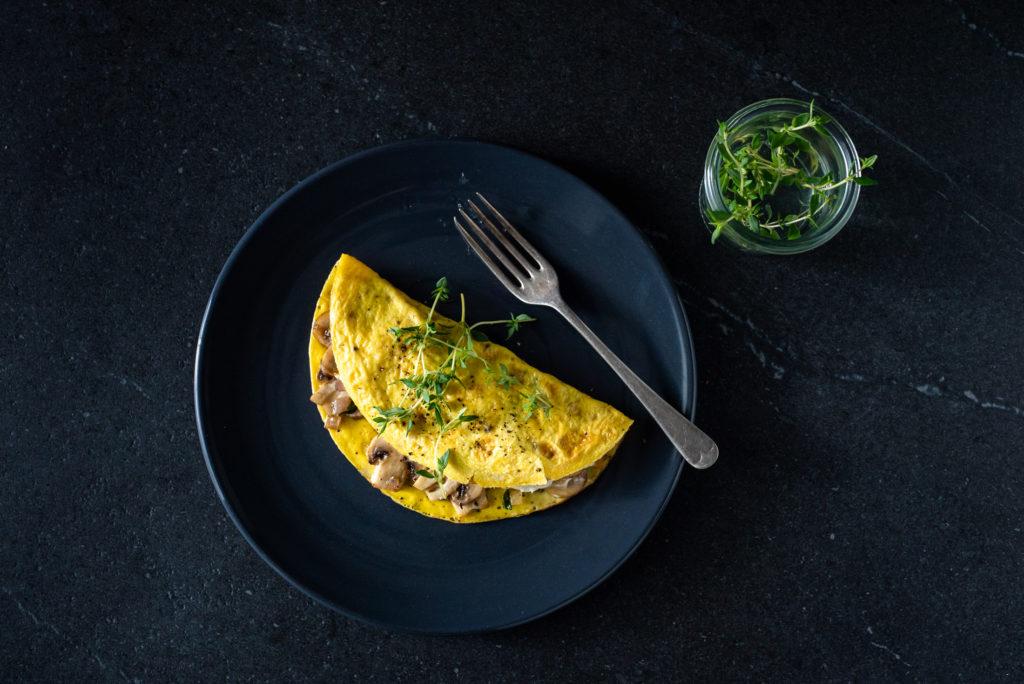 Omelet, Cream Cheese