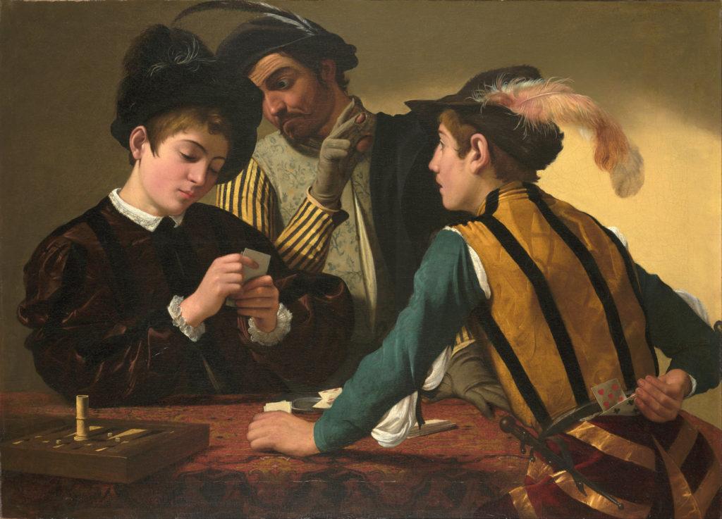 Cardsharps by Caravaggio