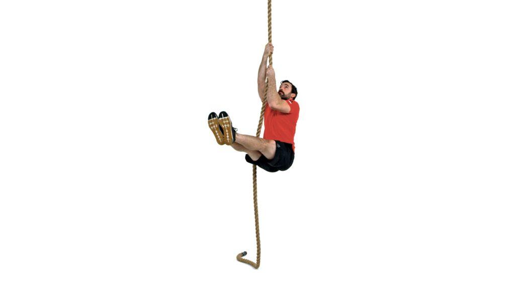 L-Sit Rope Climb