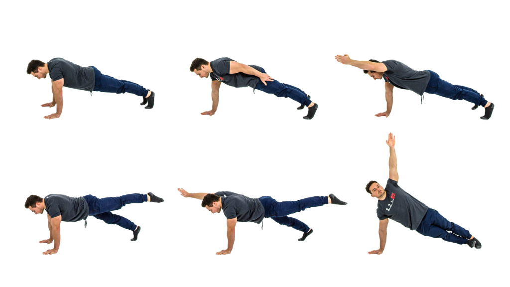 Plank positions