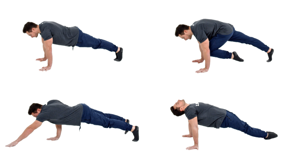 Plank Variations Video