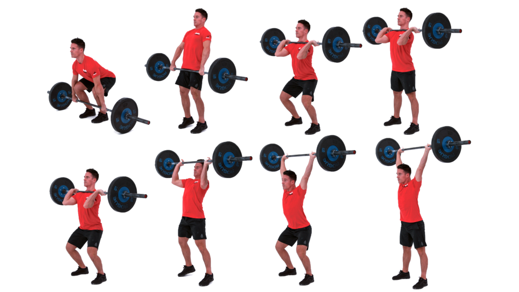 power clean and push jerk cerbus