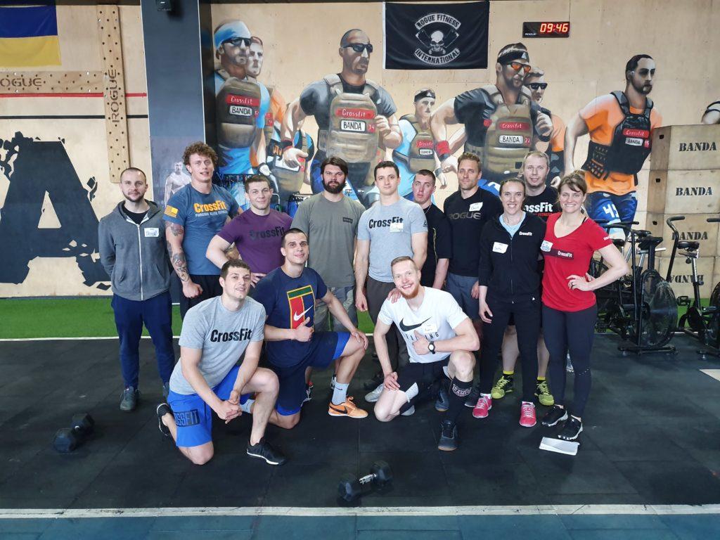 CrossFit Banda II, Kiev, Ukraine