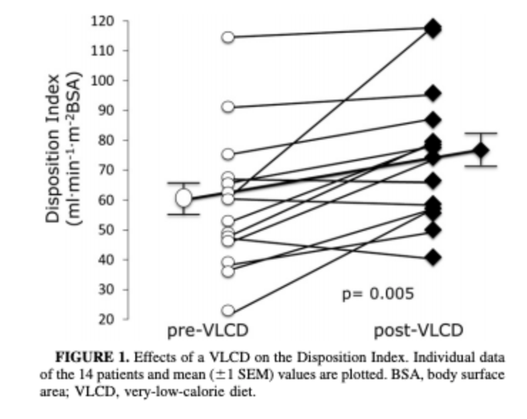 Effects of VLCD