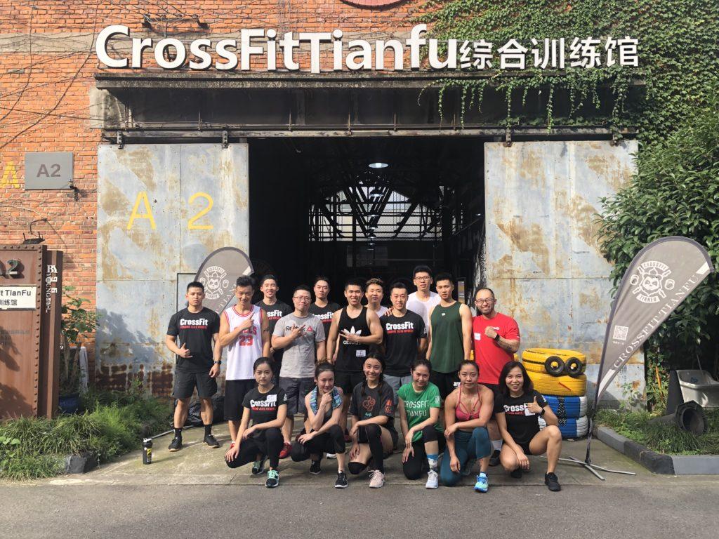 CrossFit Tianfu GP, Chengdu, China