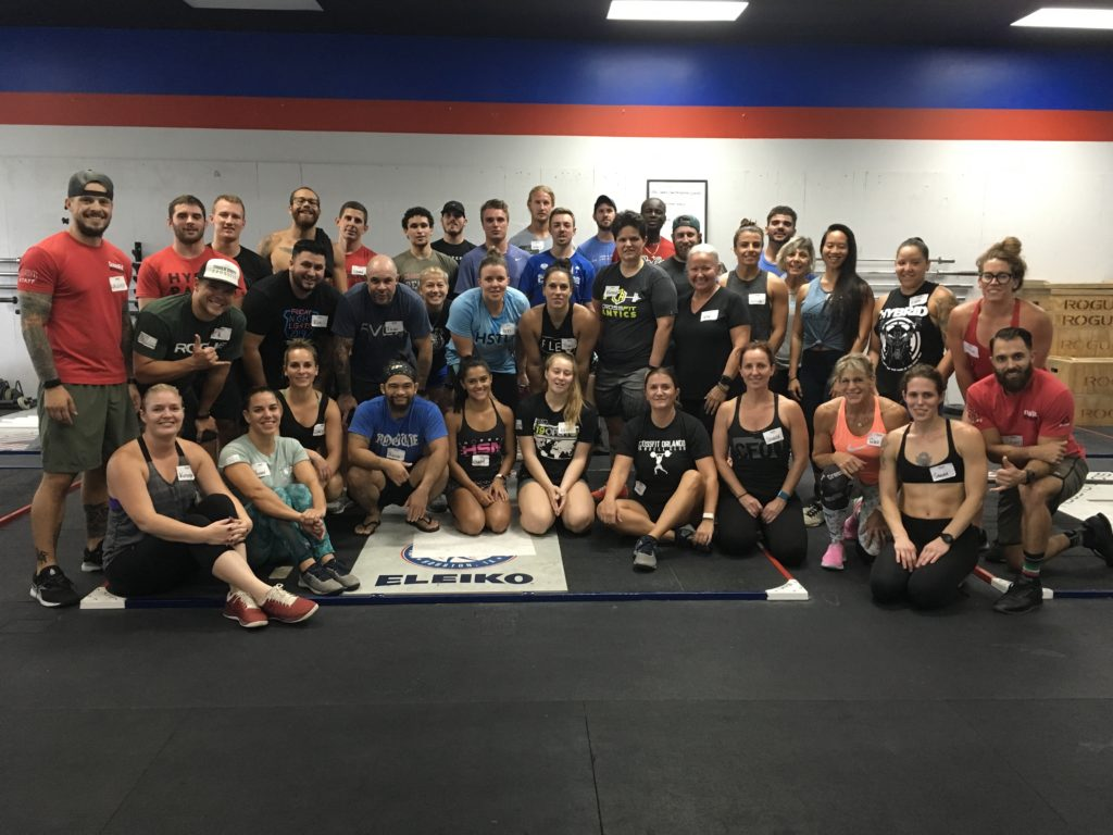 CrossFit Independence, Orlando, FL