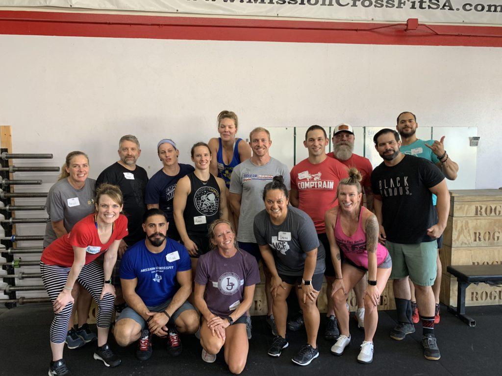 Mission CrossFit San Antonio, San Antonio, TX