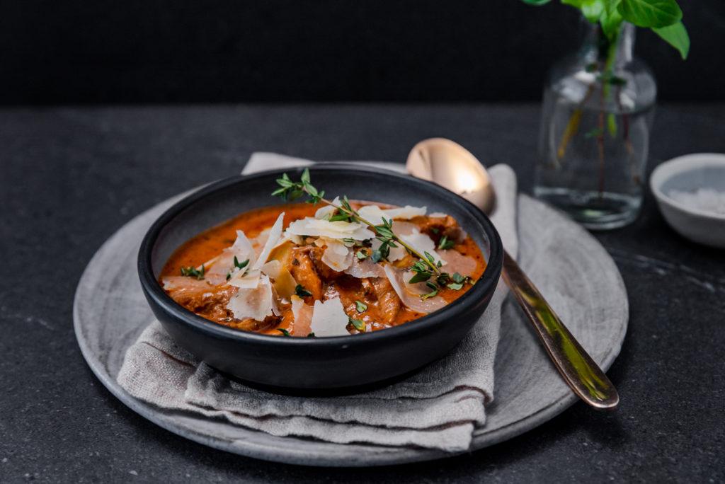 Beef, Mushroom & Thyme Stew