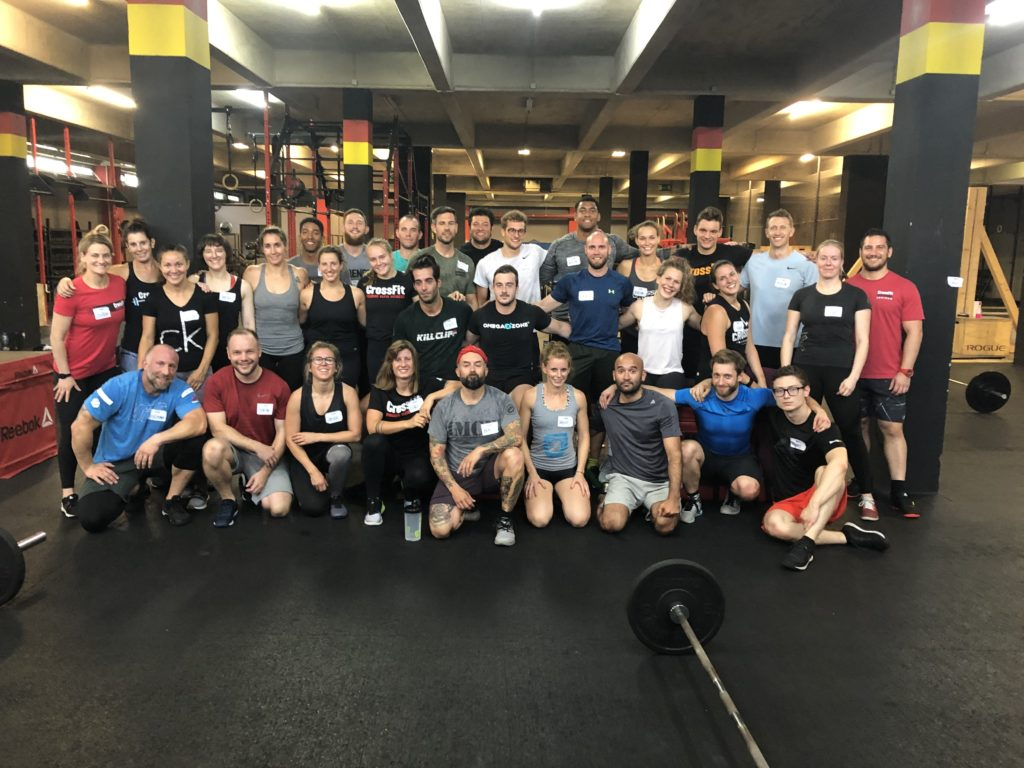 CrossFit F2, Munich, Germany