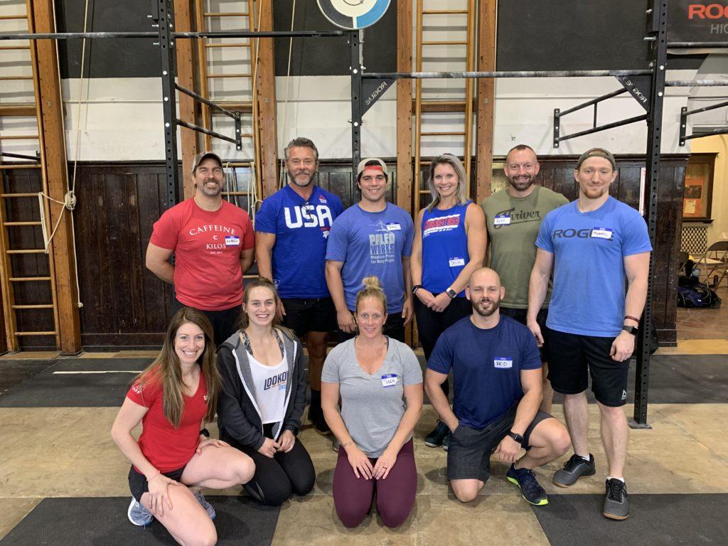 Comanche CrossFit, Cincinnati, OH