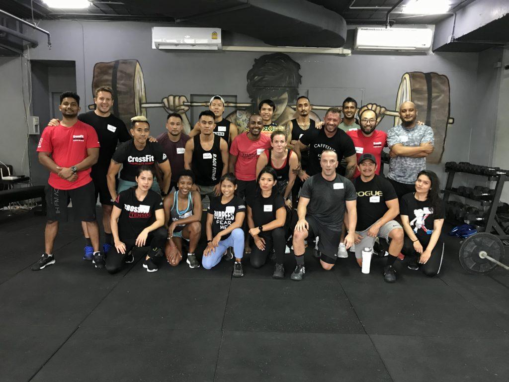 CrossFit Ten500 (10500), Bangkok, Thailand
