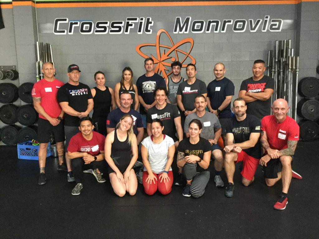 CrossFit Monrovia, Monrovia, CA