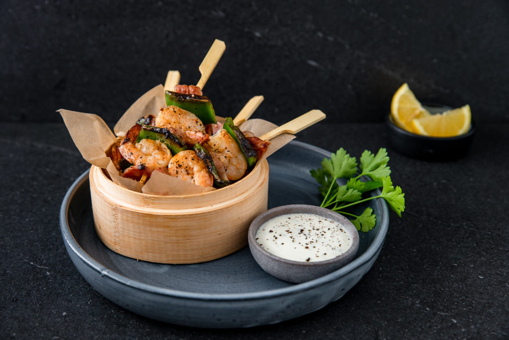 shrimp-bacon-skewers