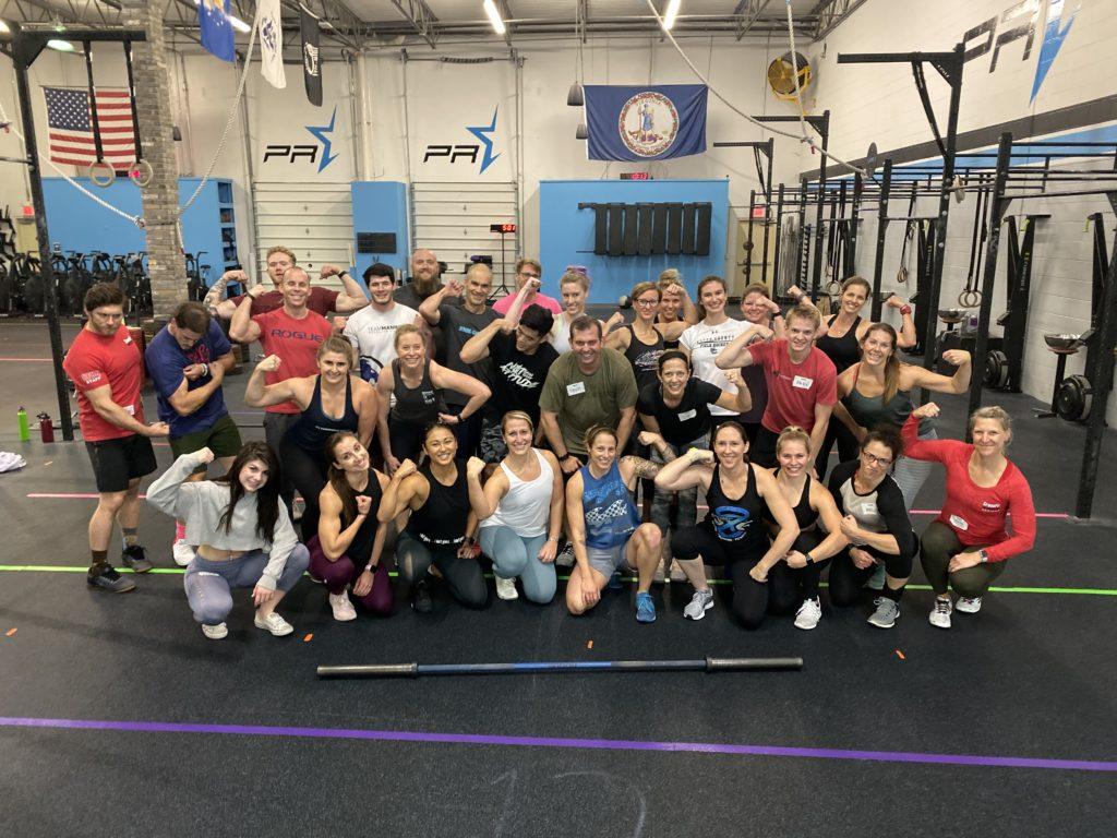 CrossFit PR Star, Chantilly, VA