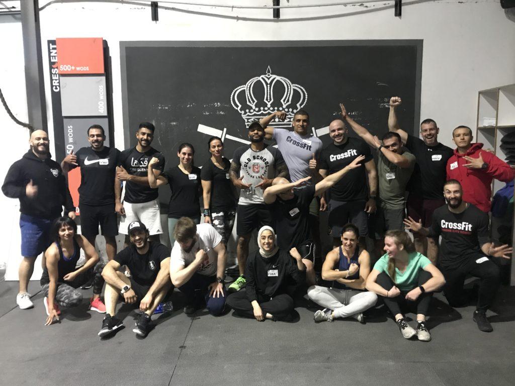 CrossFit Crescent, Amman, Jordan