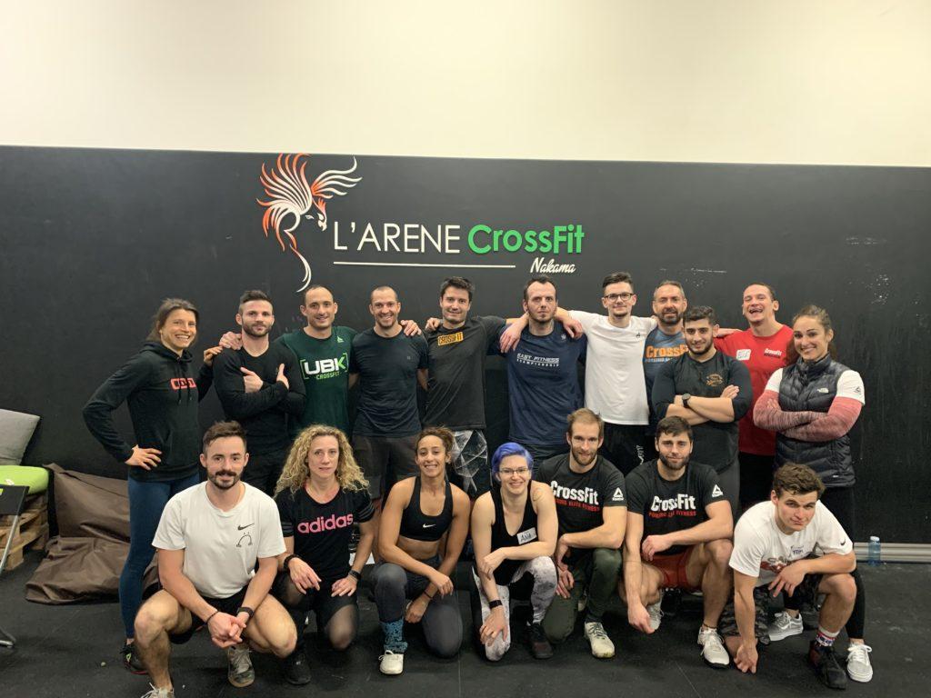 L'arene CrossFit Nakama, Ivry-sur-Seine, France