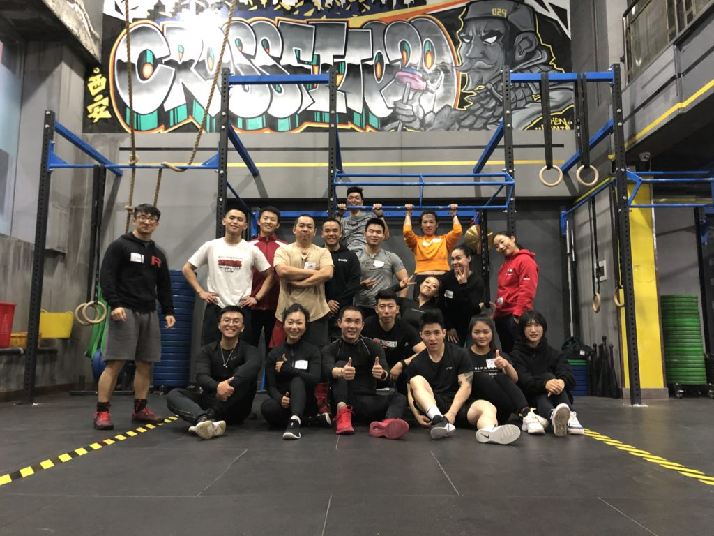 CrossFit 029, Xi'an, China