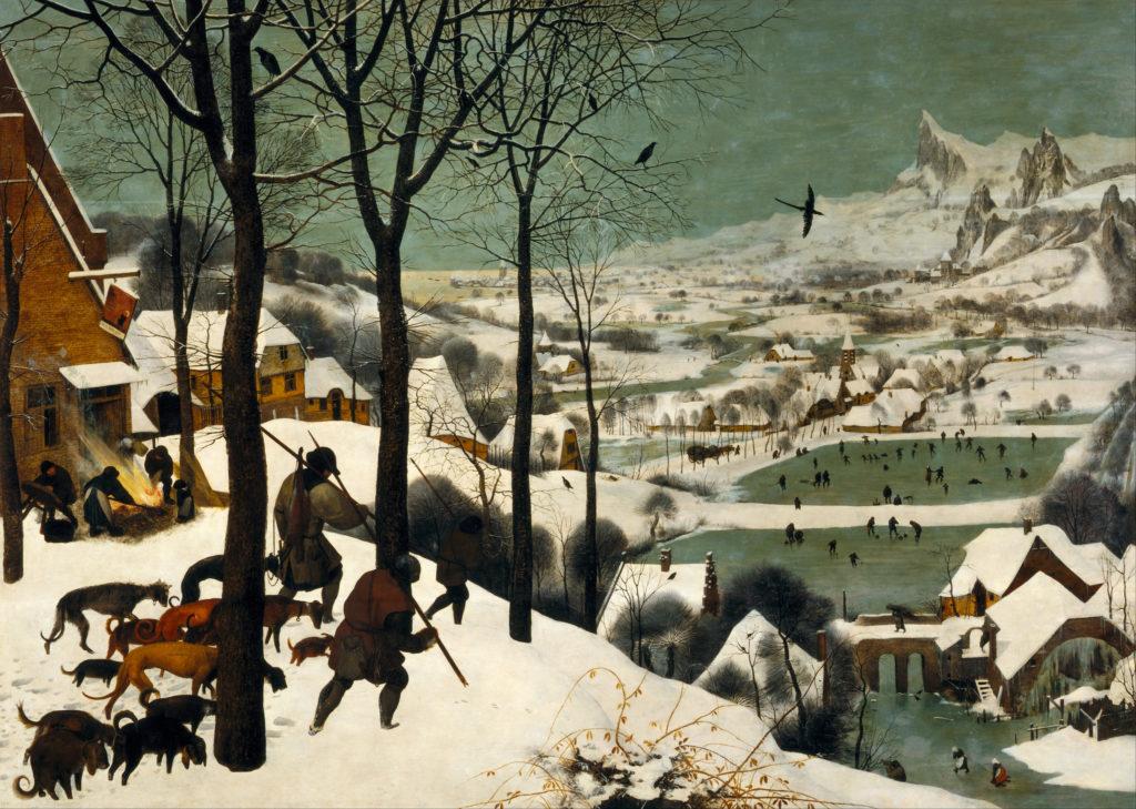 Bruegel Hunters