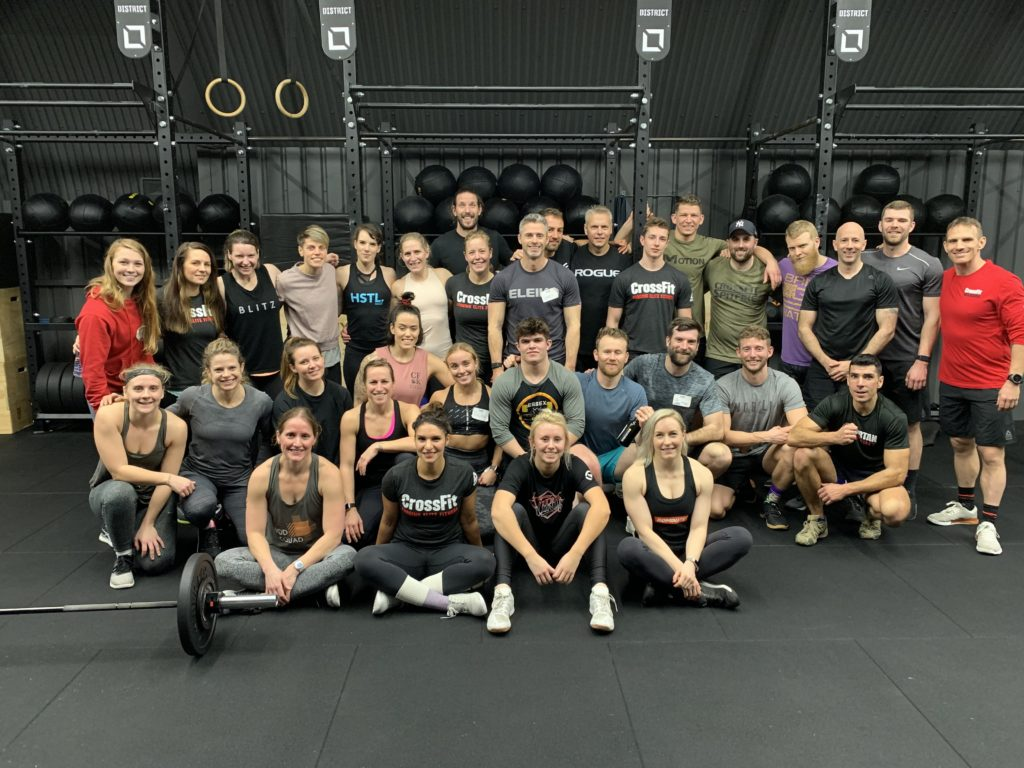 Battersea District CrossFit, London, UK