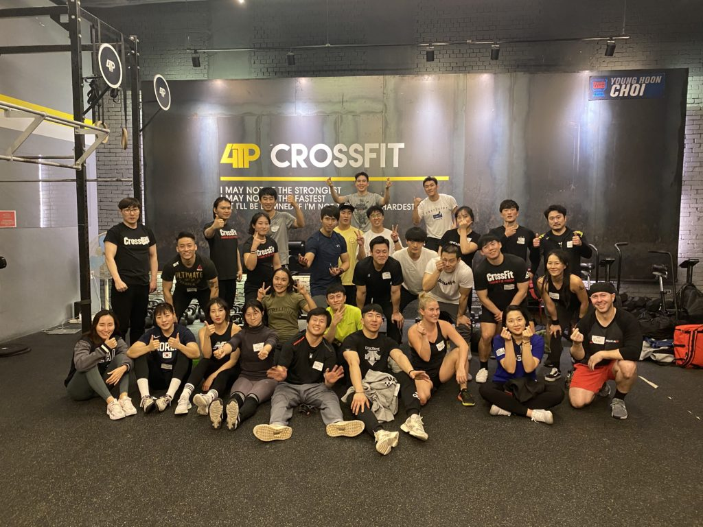 CrossFit 4TP, Seoul, Korea