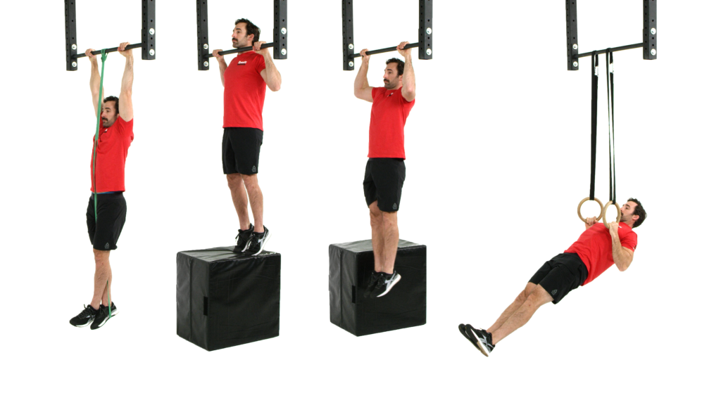 Scaling the pull-up