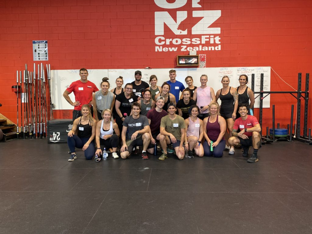 CrossFit New Zealand (NZ), Auckland, NZ