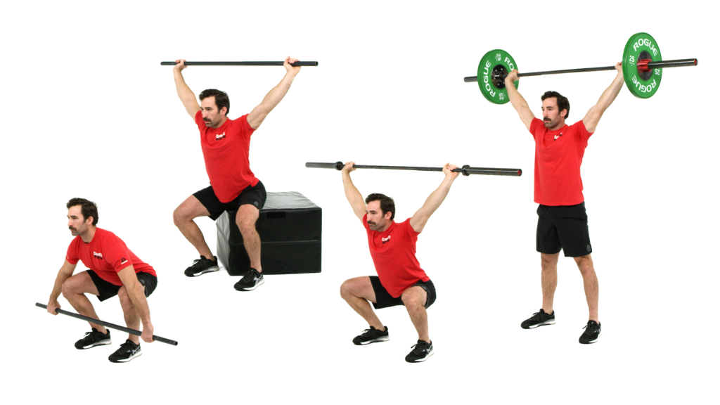 Scaling the squat snatch