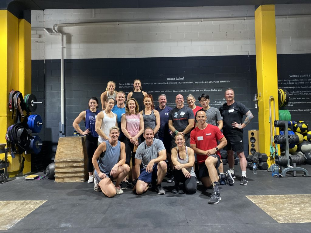 CrossFit 2600, Canberra, Australia