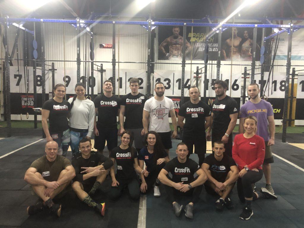 CrossFit BANDA III, Kiev, Ukraine