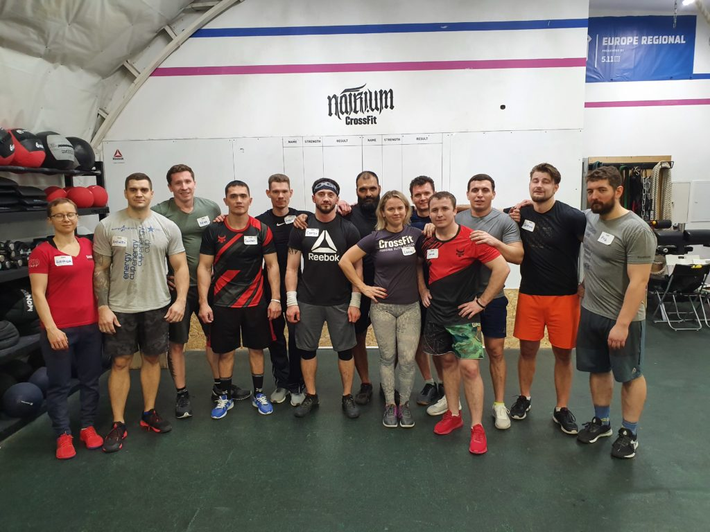 Natrium CrossFit, Moscow, Russia