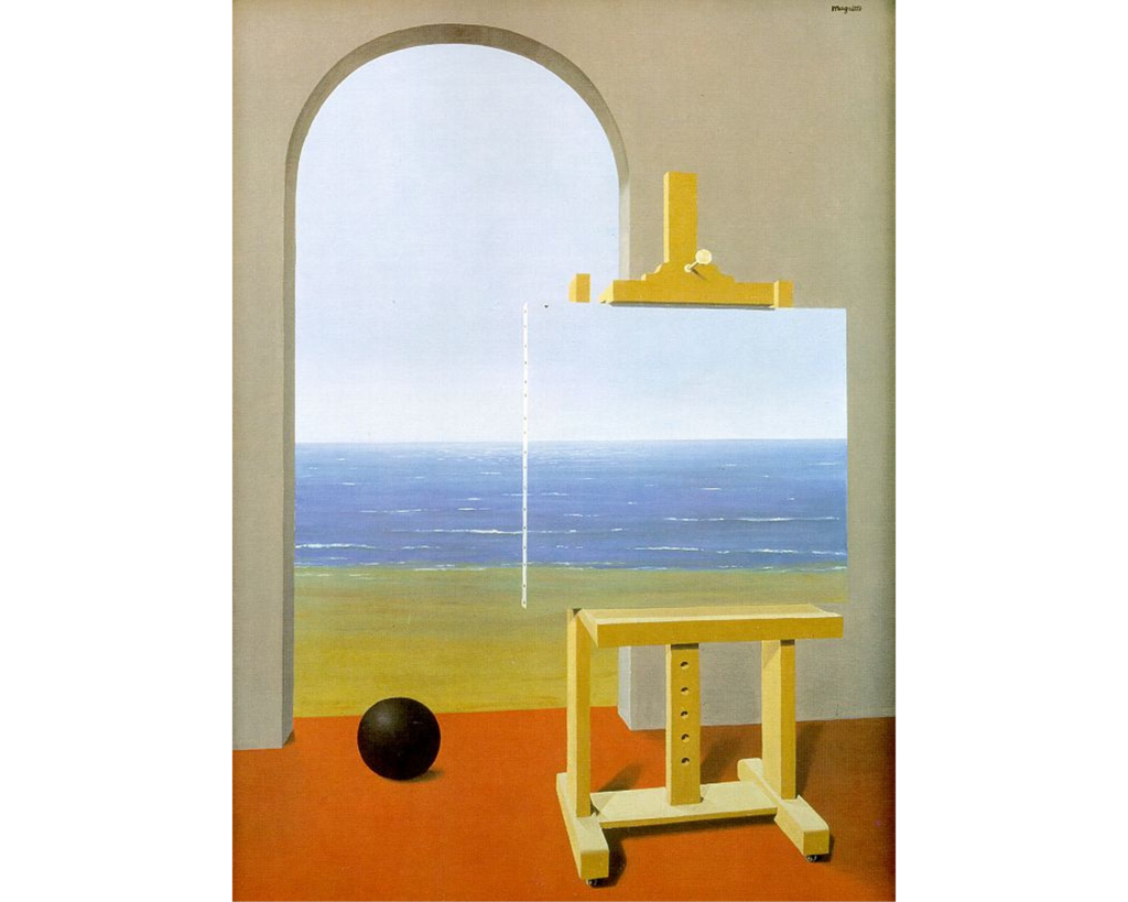 Rene Magritte Human Condition