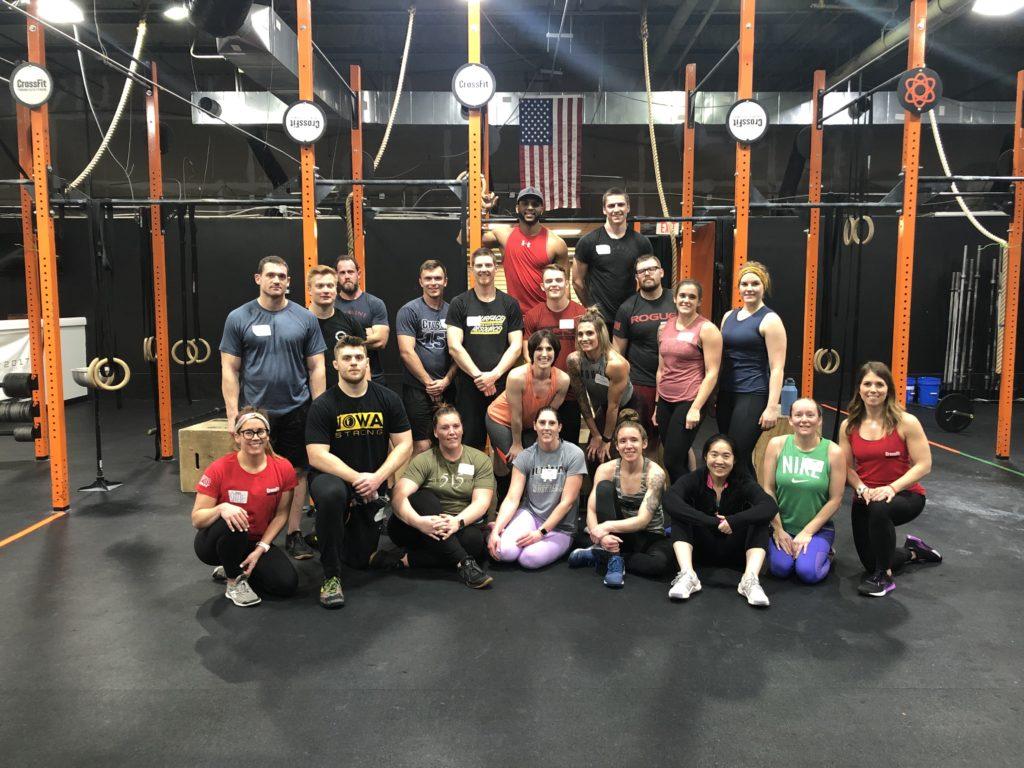 Max Oxygen CrossFit Downtown, Des Moines, IA