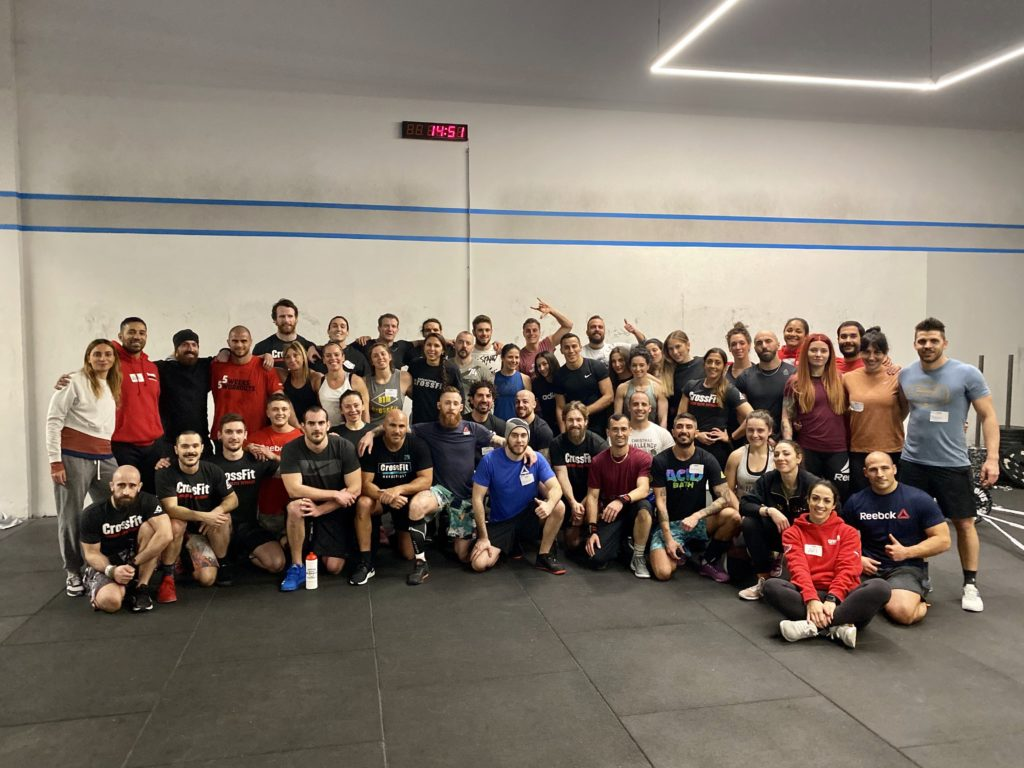 Reebok CrossFit Officine, Milano, Italy
