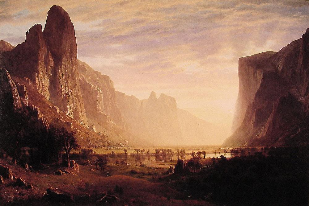 Bierstadt Yosemite