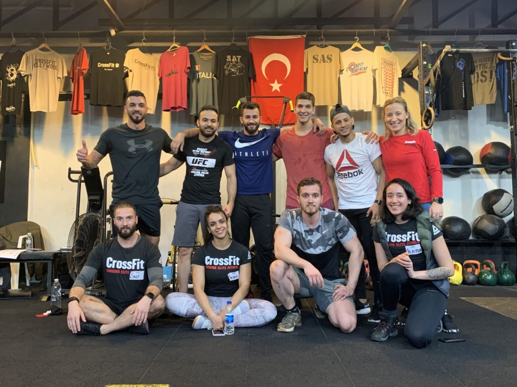 CrossFit 34, Istanbul, Turkey