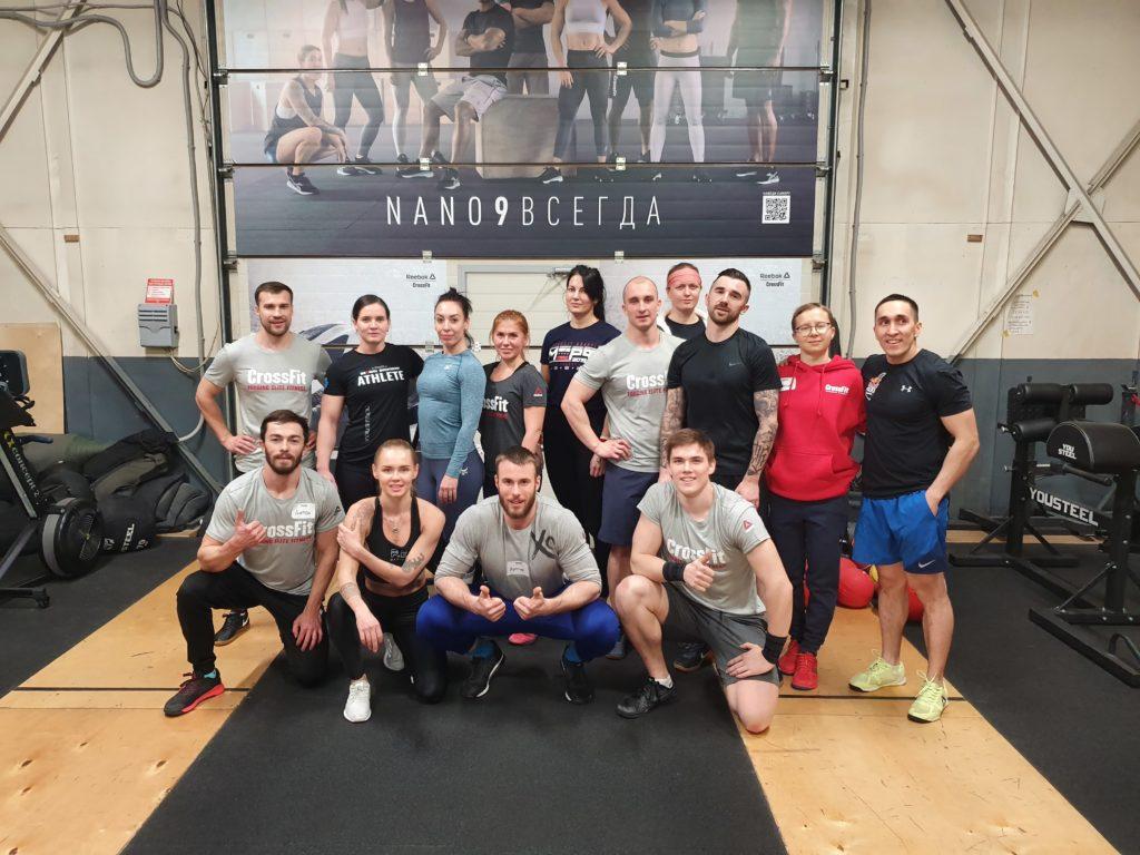 CrossFit Udarnik, Sankt-Petersburg, Russia
