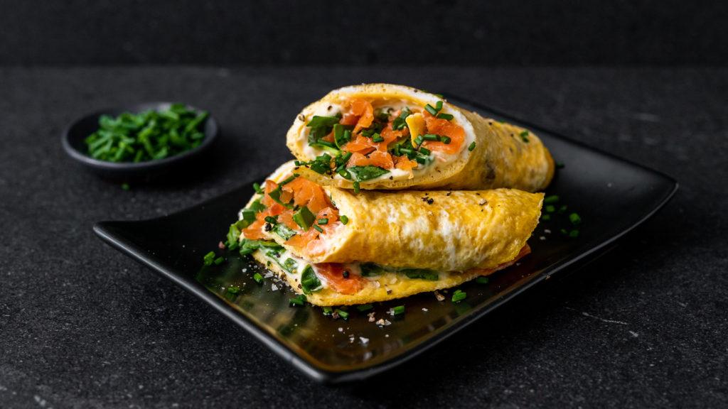 salmon egg roll