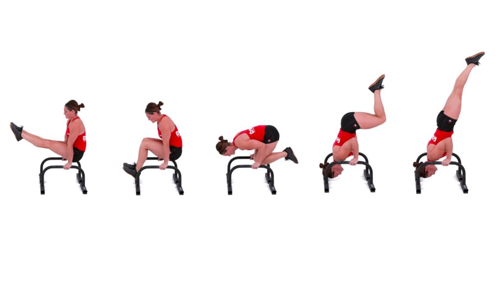 The L-Sit to Shoulder Stand
