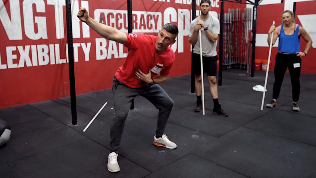 The Overhead Squat Shoulder Position