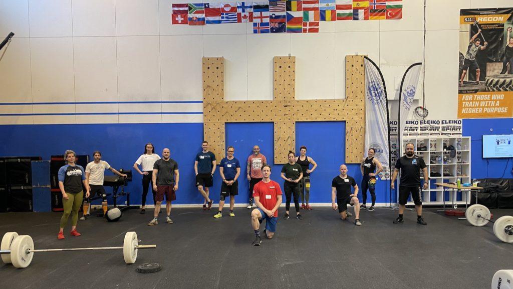 L1, Kronan CrossFit My Leo, Malmö Sweden