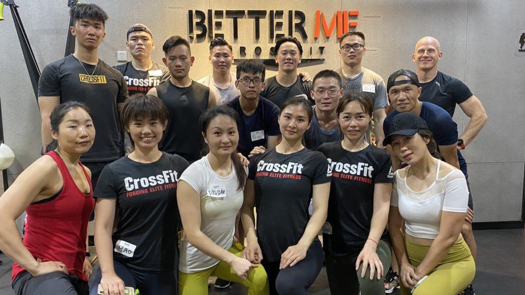 L1, CrossFit Better Me, Zhuhai, China