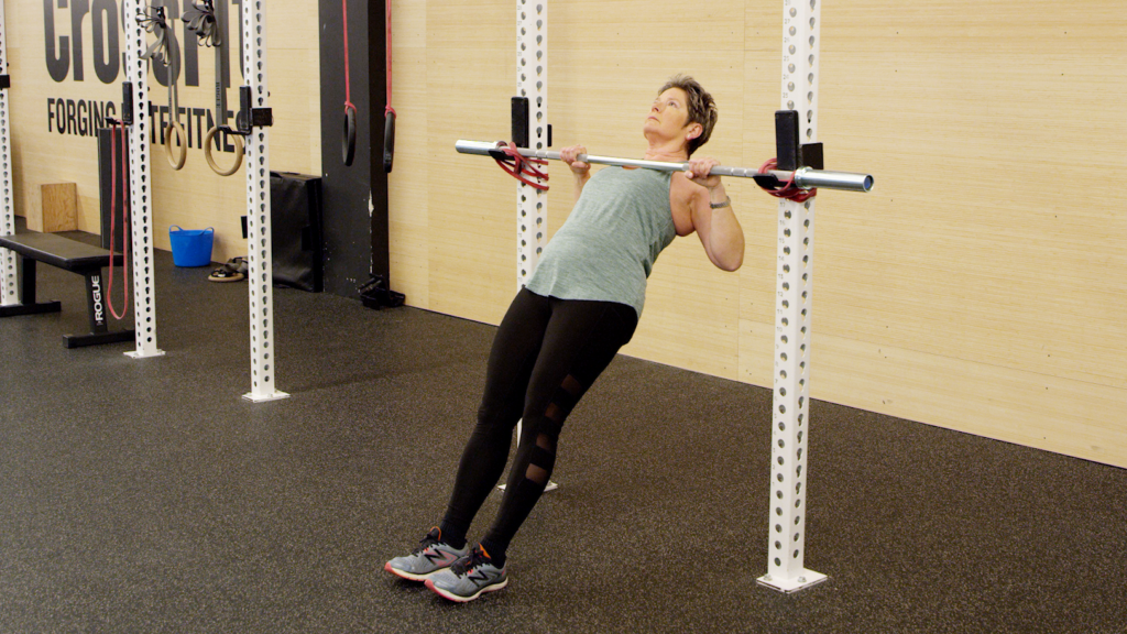 modified pull-up