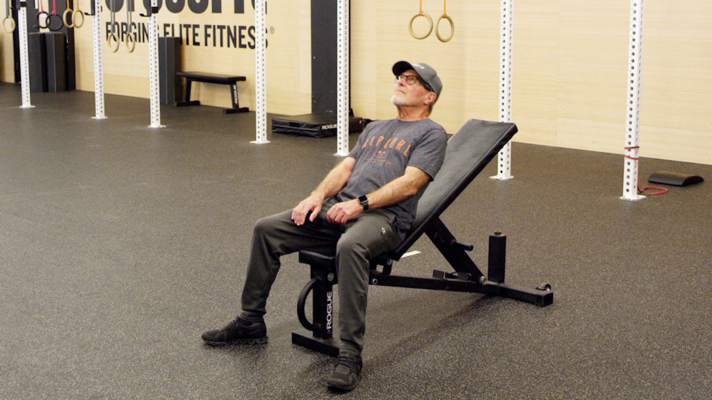 modified sit up