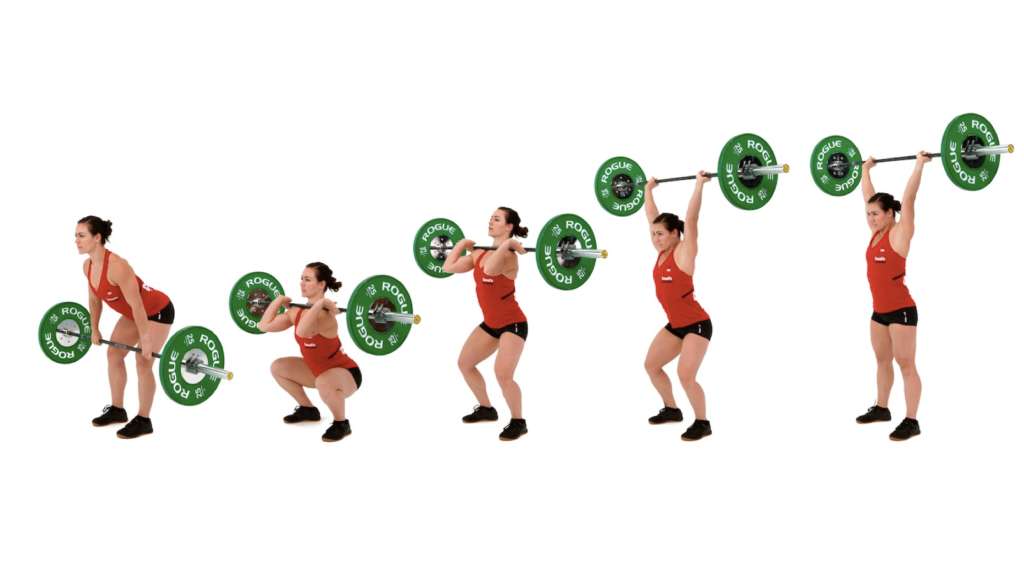 hang clean push jerk