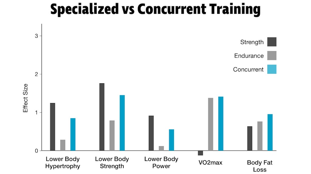 Specialized vs. Concurrent Training