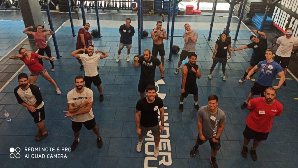 R CrossFit, Paris, France
