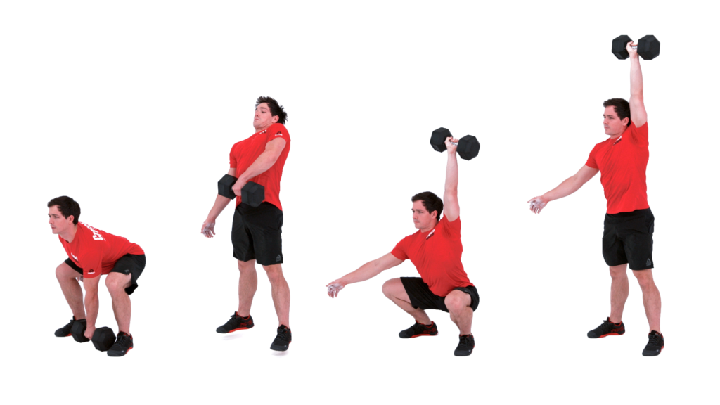 db squat snatch