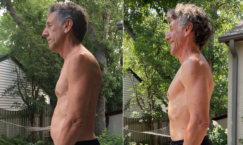 Bruce Jacobs before and after 2 years of CrossFit training